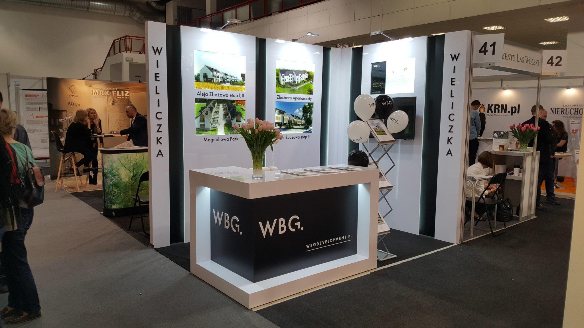 Stoisko targowe WBG Development